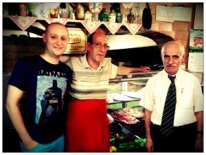 Me, Enver Usta and Mr Ahmet
