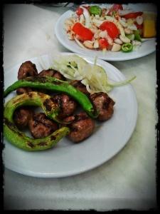 Meatballs & Piyaz