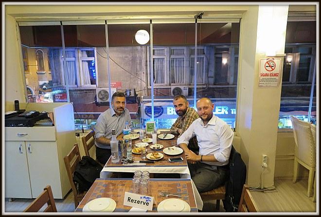 Barış, Gürkan and Me