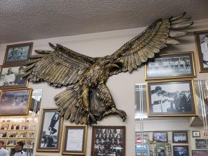 The Eagle, symbol of Beşiktaş Football Club
